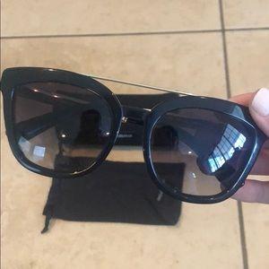 Dolce & Gabbana Black and gold sunglasses